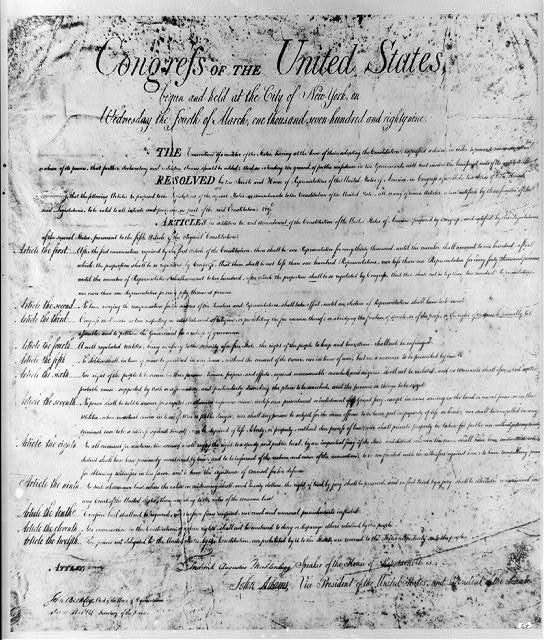 photograph about Bill of Rights Printable called Invoice of Legal rights Practicum - House